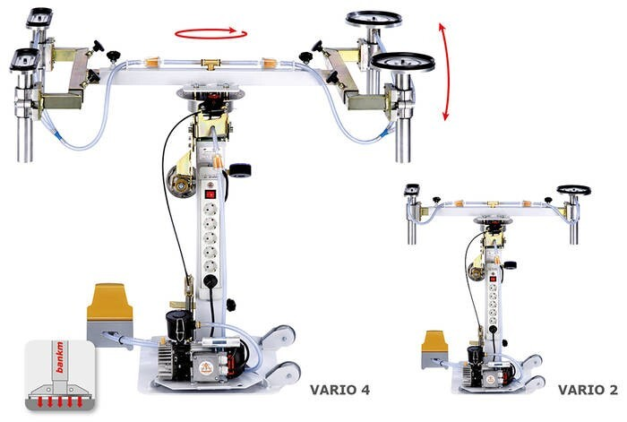 LOGO_bankmaster® VARIO 2 / VARIO 4 Vakuum-Säulensystem