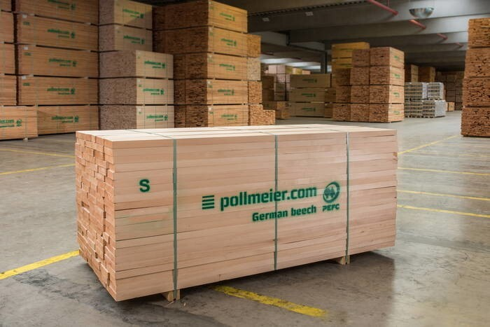 LOGO_Pollmeier beech timber. Quality you can see ...