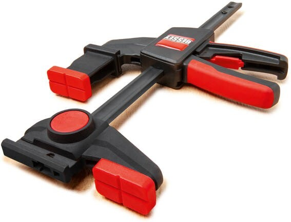 LOGO_New from BESSEY: One-handed table clamp set EZR15-6SET