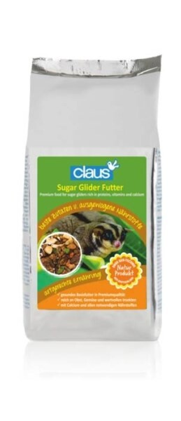 LOGO_Sugar Glider Futter - Spezialfutter mit ausgewogenen Proteinen, Vitaminen und Calcium