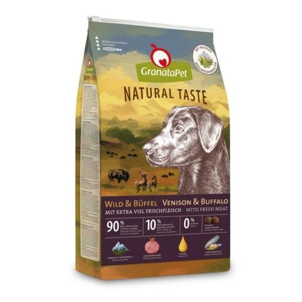 LOGO_GranataPet Natural Taste venison & buffalo
