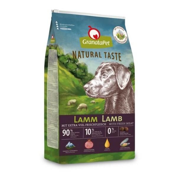 LOGO_GranataPet Natural Taste Lamm