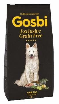 LOGO_GOSBI EXCLUSIVE GRAIN FREE ADULT FISH MEDIUM (for Adult Dogs)