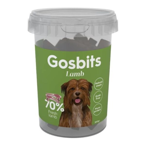 LOGO_GOSBITS LAMB (Dogs snacks)