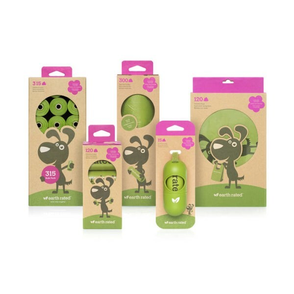 LOGO_Green Colored Pet Waste Bags – Lavender-Scented
