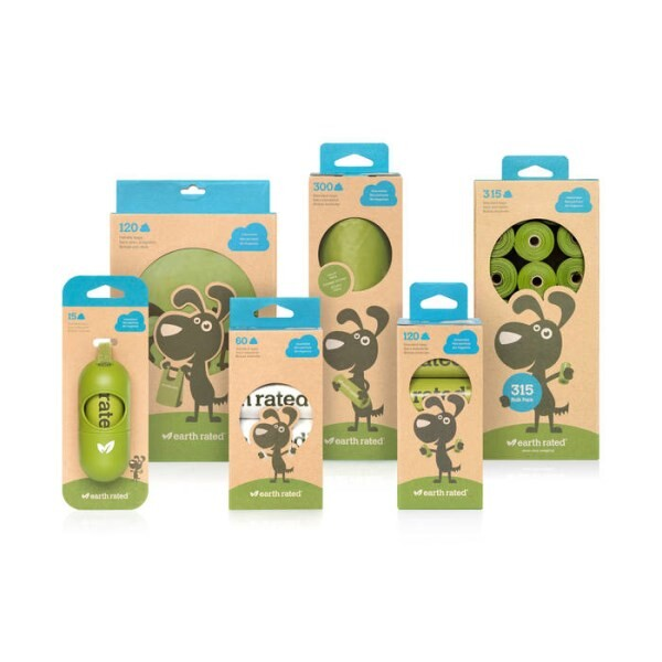LOGO_Green Colored Pet Waste Bags – Unscented