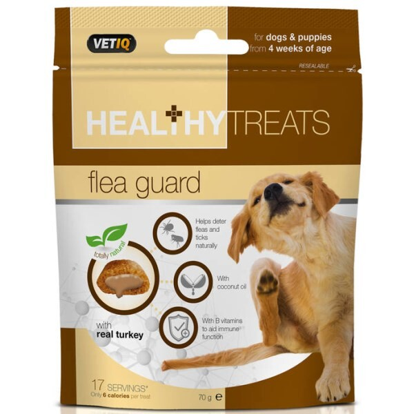 LOGO_Healthy Treats Flea Guard for Dogs & Puppies