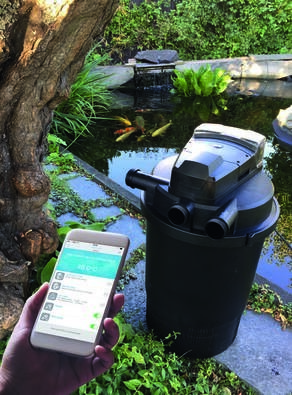 LOGO_Automatischer, selbstreinigender Teichfilter mit WIFI Control