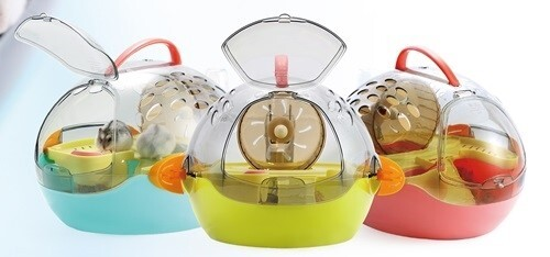 LOGO_Item No. 730 Oval Spaceship Hamster Carrier