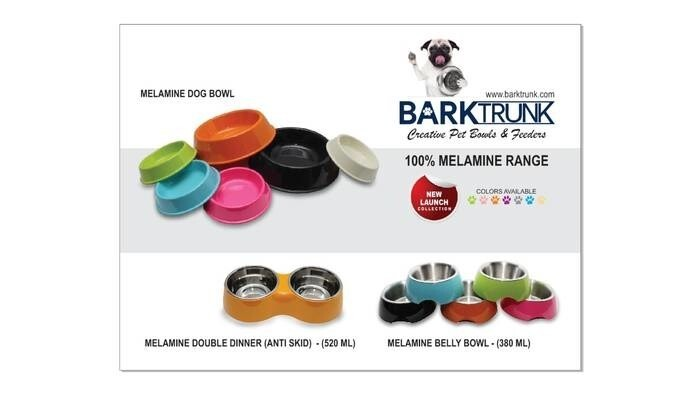 LOGO_Melamine dog & cat feeders
