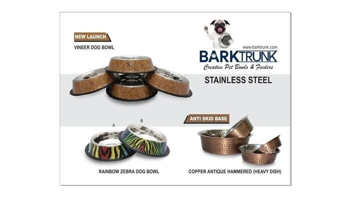 LOGO_Stainless steel creative pet bowls