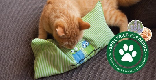 LOGO_Katzenspielkissen mit Katzenminze