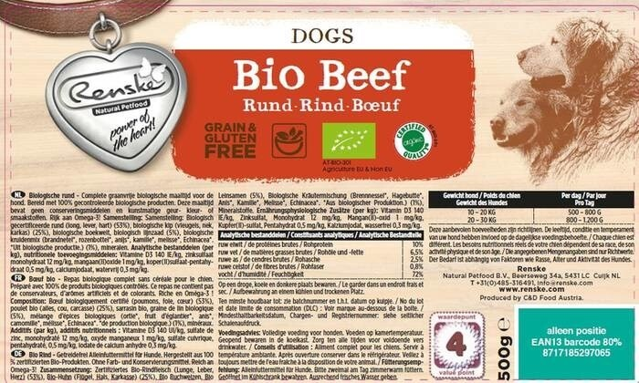 LOGO_Renske BIo - Organic wet- and dry food for dogs and cats