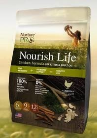 LOGO_Nourish Life Chicken Formula For Kitten & Adult