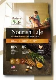 LOGO_Nourish Life Chicken Formula For Mature Cat 7+