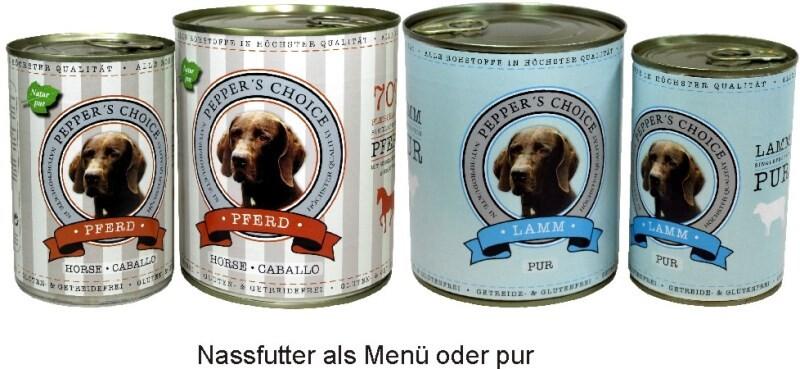 LOGO_Leckeres und naturgesundes Premium Hundefutter..