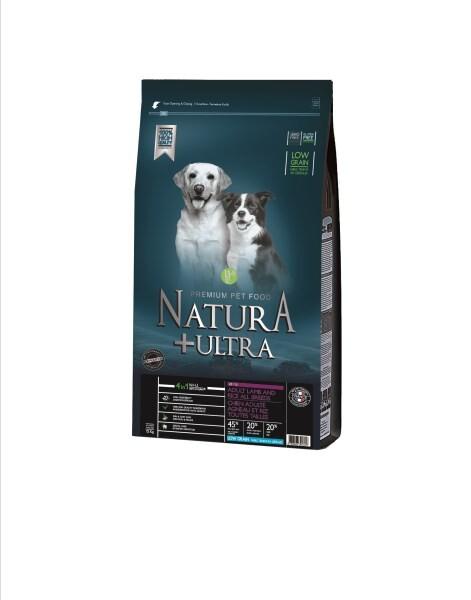 LOGO_Getreidereduziertes Hundetrockenfutter für Hunde mit Lamm und Reis
