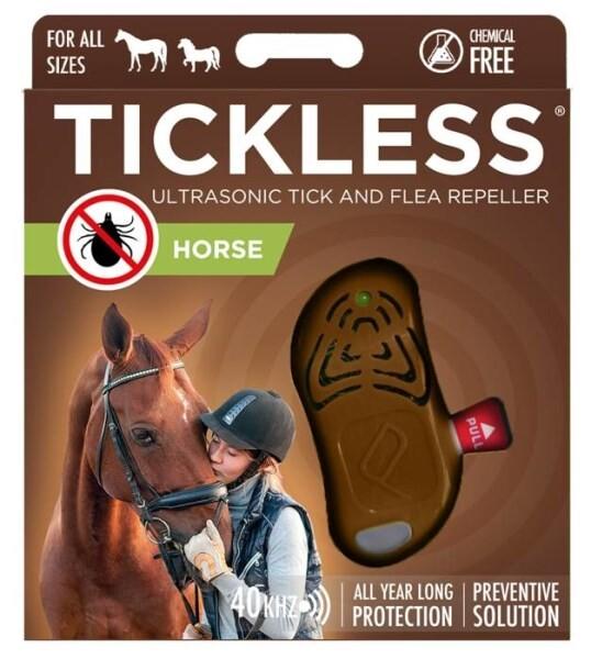 LOGO_TICKLESS Ultraschallgerät gegen Zecken und Flöhe (Pferd)