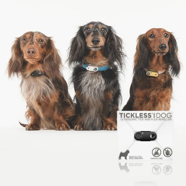 LOGO_TICKLESS Mini – new generation ultrasonic flea and tick protection for small pets