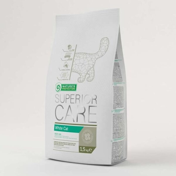 LOGO_Nature's Protection Superior Care White Cat