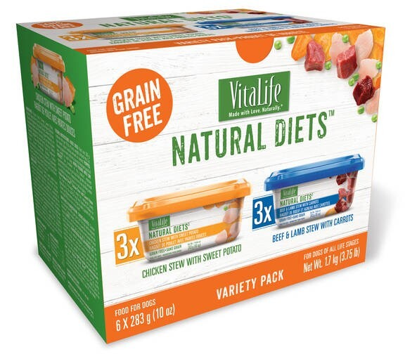 LOGO_VitaLife Natural Diets™ Wet Dog Food, Variety Pack