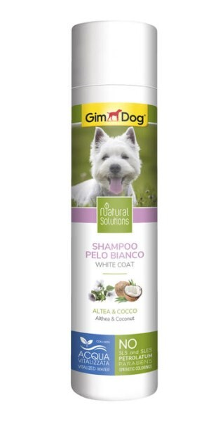LOGO_GimDog Natural Solutions White Coat Shampoo
