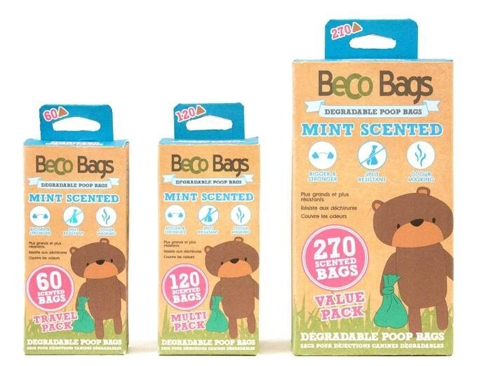 LOGO_BECO POOP BAGS - MINT SCENTED