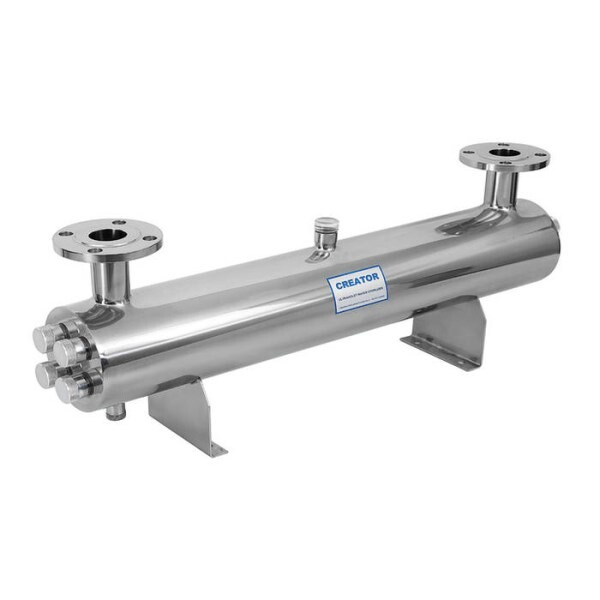 LOGO_Immersion dive water UV filter UV sterilizer, Water treatment equipment, stainless steel / PVC UV sterilizer