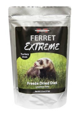 LOGO_Marshall Ferret Extreme Freeze Dried Diet, Turkey