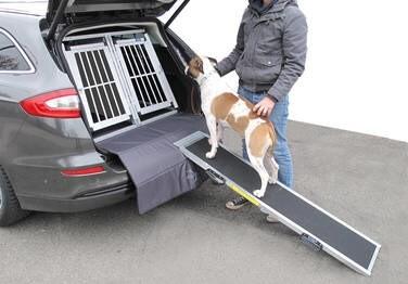 LOGO_Auto-Hunderampe aus Aluminium