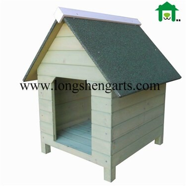 LOGO_Wooden dog kennel