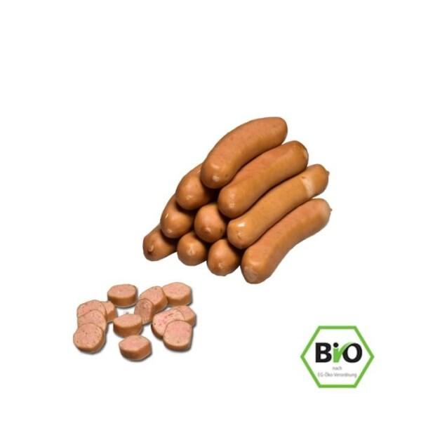 LOGO_30 Geflügel Wienerli 10 Stk / Packung 600g (bio)