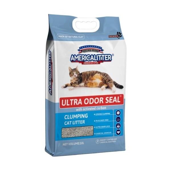 LOGO_America Litter®: Ultra Odor Seal® Katzenstreu