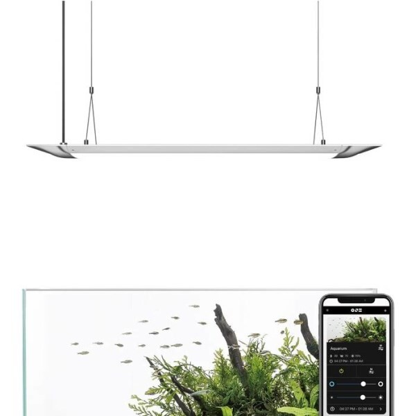 LOGO_Flat One| The Smart Aquarium Lighting (Pendant style, 24 Inch / 36 Inch)