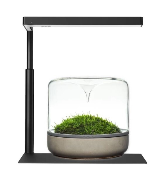 LOGO_Flat Nano | The desktop plant lighting (Black, Silver, and Rose Gold)