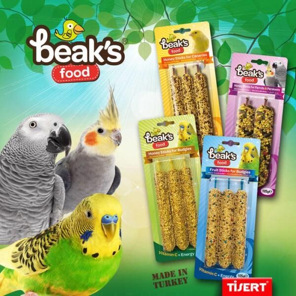 LOGO_''Beaks'' for birds & rodents