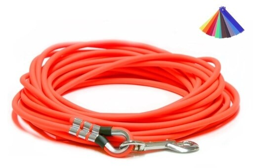 LOGO_Tracking Leashes from round BioThane® – in many colours