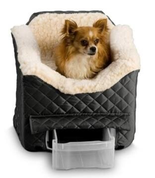 LOGO_Snoozer Pet Products Lookout Car Seat for Dogs