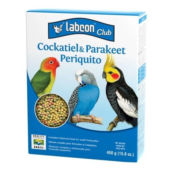 LOGO_LABCON CLUB COCKATIEL & PARAKEET