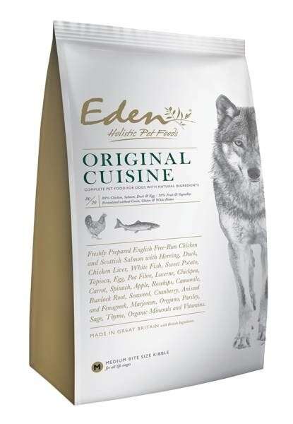LOGO_EDEN 80/20 ORIGINAL CUISINE DOG FOOD