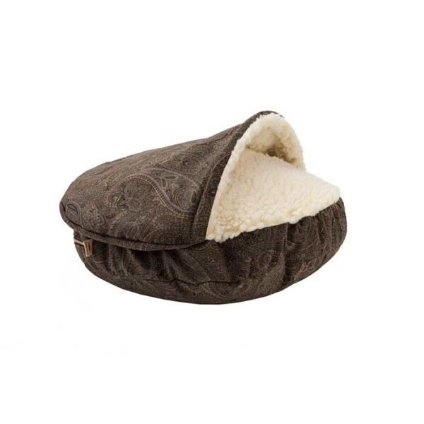 LOGO_Snoozer Cozy Cave Burrow Dog Bed