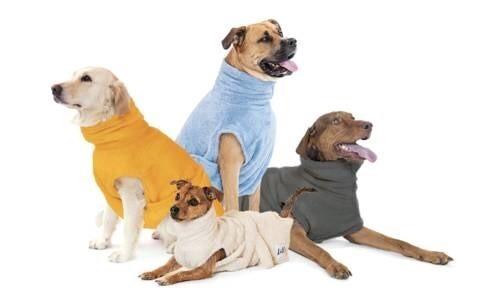 LOGO_Hundebademantel aus Bio-Baumwolle (GOTS-zertifziert)
