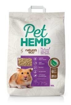 LOGO_Pet Hemp Small Animal Bedding by NATURE'S ECO®