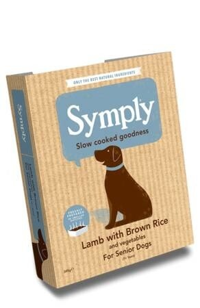 LOGO_Lamb with Brown Rice For Senior Dogs