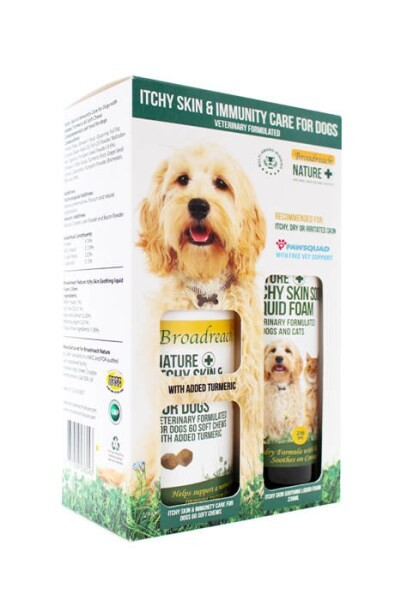 LOGO_ITCHY SKIN & IMMUNITY CARE FOR DOGS: DUO PACK - BROADREACH NATURE