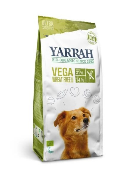 LOGO_Organic vegan wheat-free kibble for dogs