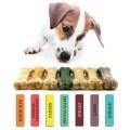 LOGO_100 per cent natural chew bones, taster set 7 bones