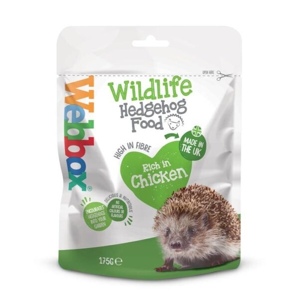 LOGO_Webbox Wildlife Hedgehog Food