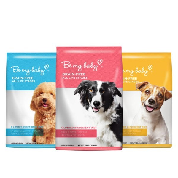 LOGO_Be my baby Grain-free Formulas for Dogs