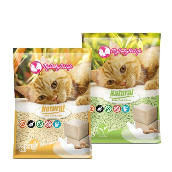 LOGO_My baby pet life - Tofu Cat Litter 6L/17.5L